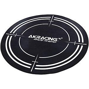 AK Racing gulvmatte (sort)