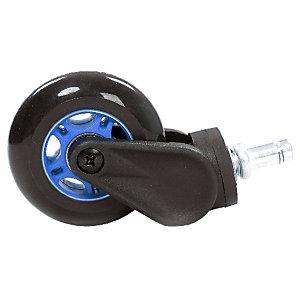 AKRacing Hjul till gamingstol RollerBlade Casters blå
