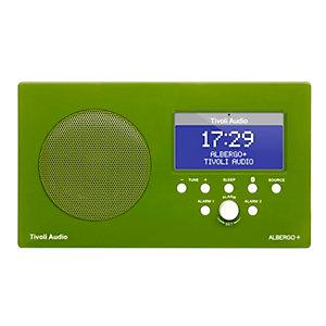 Tivoli Audio Albergo+ DAB+ BT klokkeradio (grønn)