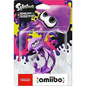 Nintendo Amiibo samlarfigur - Inkling Squid (neonlila)