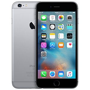 iPhone 6s Plus 128 GB - rymdgrå