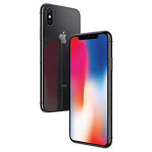 iPhone X 64 GB (tähtiharmaa)