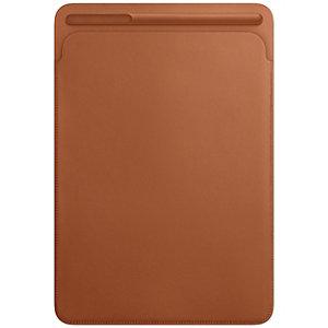 iPad Pro 10.5 nahkatasku (satulanruskea)