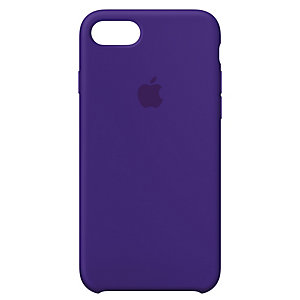 iPhone 8 silikondeksel (ultrafiolett)