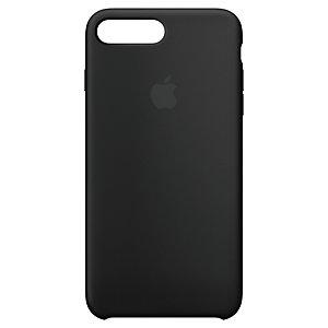 iPhone 8 Plus silikondeksel (sort)