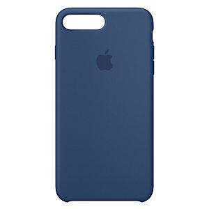 iPhone 8 Plus silikondeksel (koboltblå)