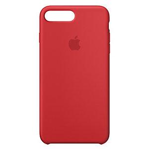 iPhone 8 Plus silikondeksel (rød)