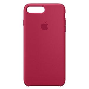 iPhone 8 Plus silikondeksel (roserød)