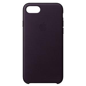 iPhone 8 skinndeksel (mørk aubergine)