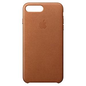 iPhone 8 Plus skinndeksel (sadelbrun)