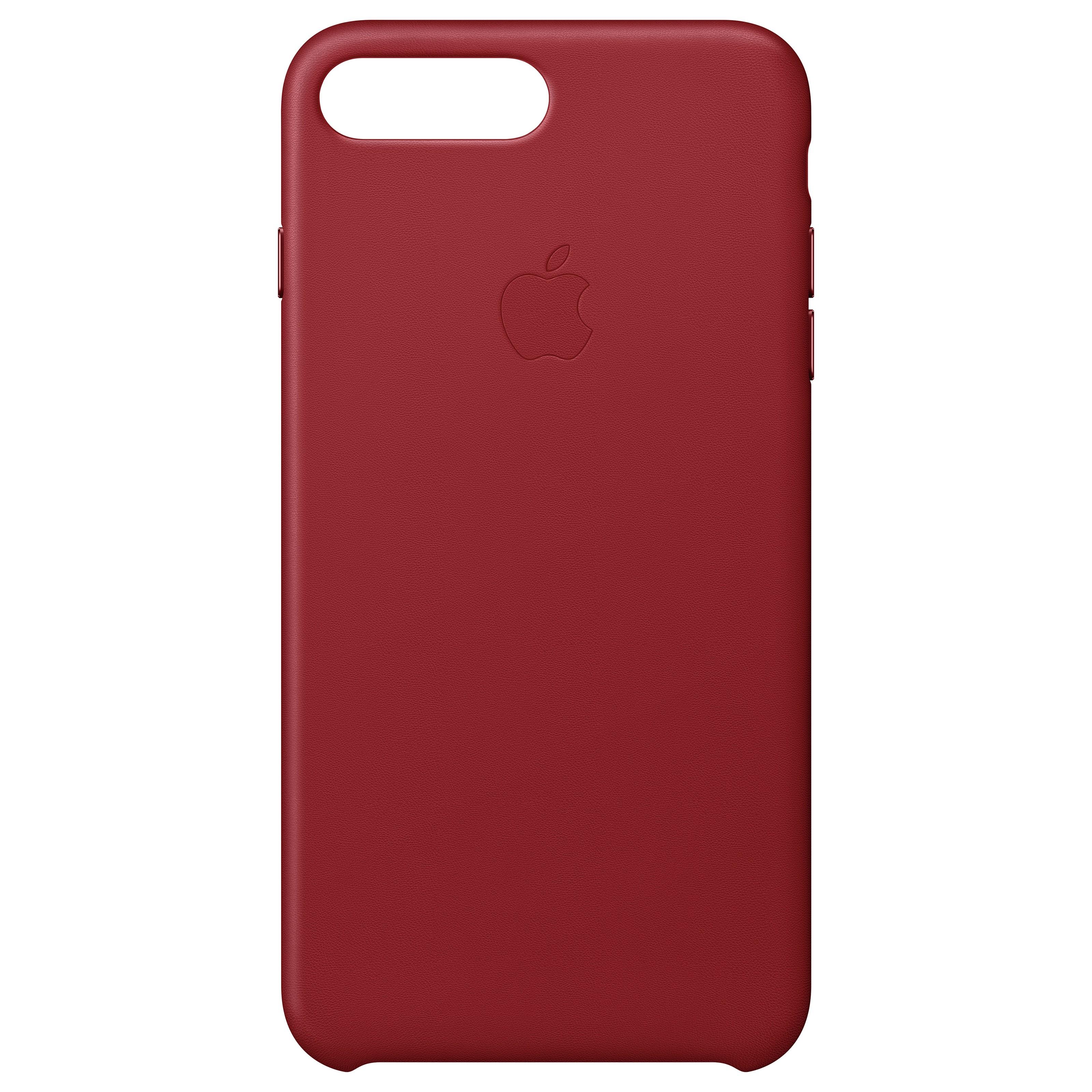 MQHN2ZM/A : iPhone 8 Plus skinndeksel (rød)