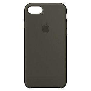 iPhone 8 silikondeksel (mørk oliven)