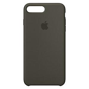 iPhone 8 Plus silikondeksel (mørk oliven)
