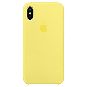 Apple iPhone X silikonfodral (lemonade)