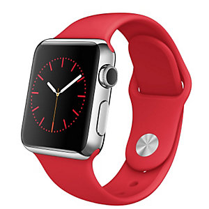 Apple Watch 38 mm Steel case Sport band (PRODUCT)RED
