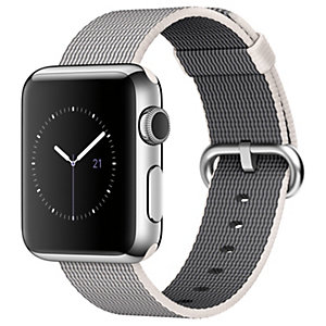 Apple Watch 38 mm alumiinikuori/nailon (helmi)