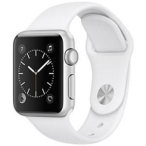 Apple Watch Series 1 Sport 38mm (sølv alu/hvit rem)