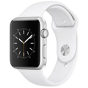 Apple Watch Series 1 Sport 42 mm (silver/vit)