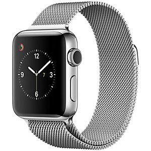 Apple Watch Series 2 38 mm (teräs/milanolaisranneke)