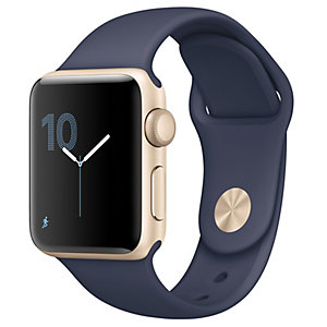 Apple Watch Series 2 38 mm (guld/blå)