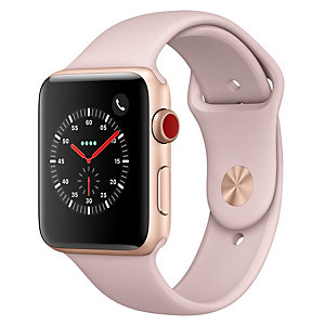 Apple Watch Series 3 38mm (GPS + mobilanslutning)