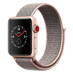 Apple Watch Series 3 42mm (GPS + mobilanslutning)