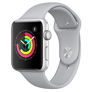 Apple Watch Series 3 42 mm (dimmgrått sportband)
