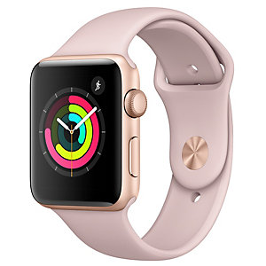 Apple Watch Series 3 42 mm (sandrosa sportband)
