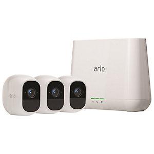 Arlo Pro 2 trådløst Full HD sikkerhetssett (3-pakning)