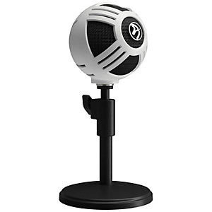 Arozzi Sfera mikrofoni (valkoinen)