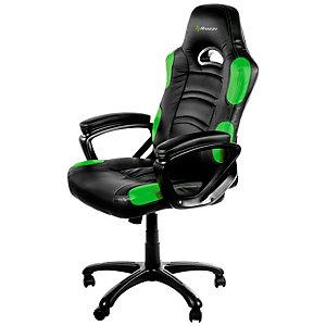 Arozzi Enzo gamingstol (grønn)
