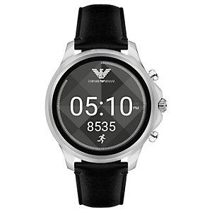Emporio Armani Connected smartwatch (stål/svart)