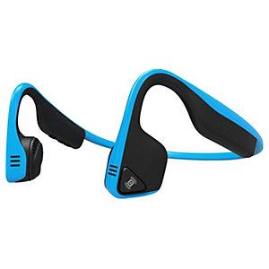 AfterShokz Trekz Titanium on-ear hörlurar (blå)