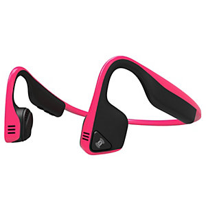 AfterShokz Trekz Titanium on-ear hörlurar (rosa)