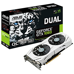 Asus Dual GeForce GTX 1060 OC grafikkort (3 GB)
