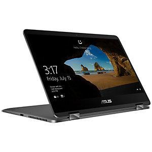 """Asus ZenBook Flip 14"""" 2-i-1 bærbar PC (grå)"""