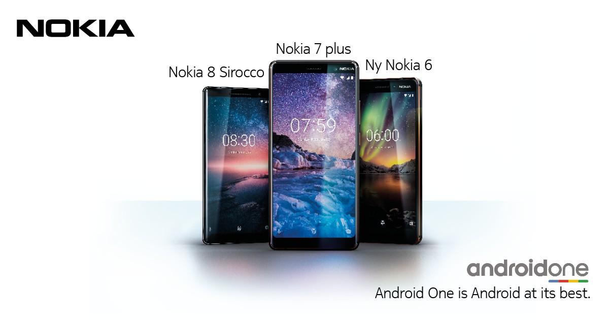 Nokia smarttelefoner