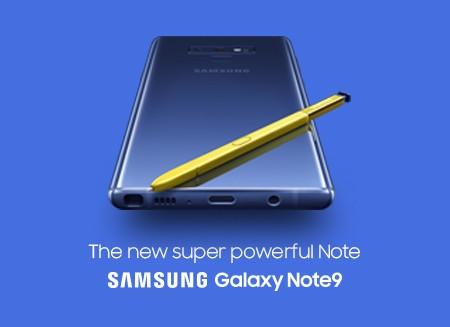 Galaxy Note9 perfekt til bedrifter