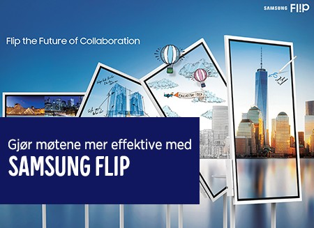 Gjør møtene mer effektive med Samsung Flip