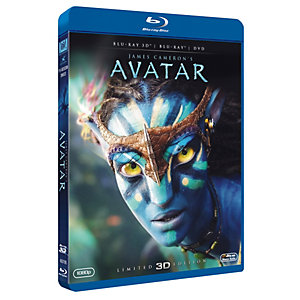 Avatar (3D + Blu-ray + DVD)