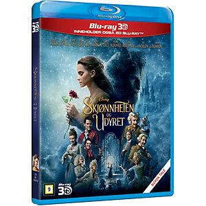 Skjønnheten og Udyret (3D Blu-ray)