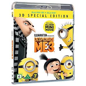 Dumma mej 3 (3D Blu-ray)