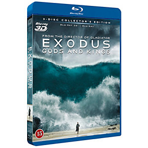 Exodus - Gods and Kings (3D + Blu-ray)