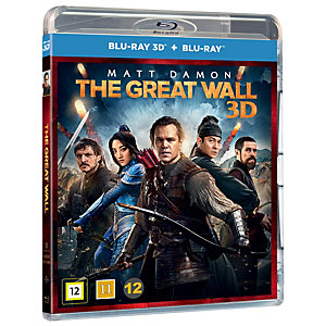 The Great Wall (3D Blu-ray + Blu-ray)