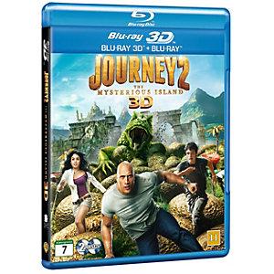 Matka 2: Salainen saari (3D Blu-ray + Blu-ray)