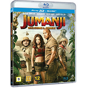 Jumanji: Welcome To The Jungle (3D Blu-ray)