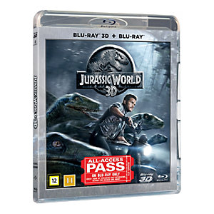 Jurassic World (3D Blu-ray + Blu-ray)