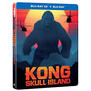 Kong: Pääkallosaari - Steelbook (3D Blu-ray)