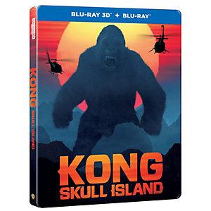 Kong: Skull Island - Steelbook (3D Blu-ray)