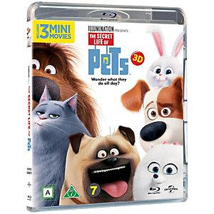 Lemmikkien salainen elämä (3D Blu-ray)